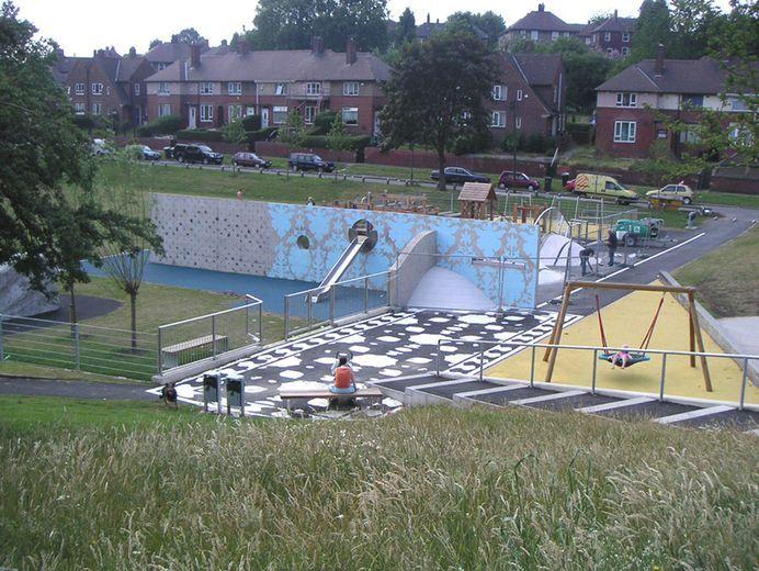Landscape Garden Design Sheffield : Cookson park sheffield uk a for young people ? kinnear landscape architects