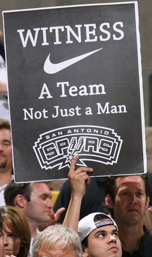 not at all a spurs man but hate one star mentality of the NBA now.     You're not MJ - so you're not the greatest.