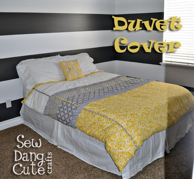 Diy Duvet Cover I D Like To Make One For My Guest Bedroom