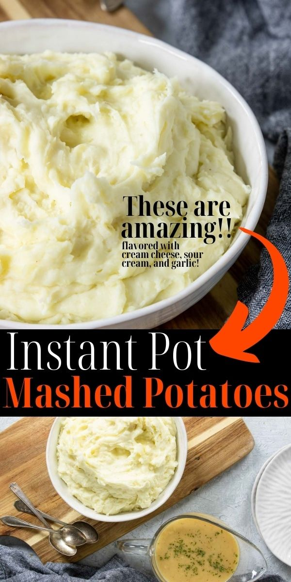 The Best Instant Pot Mashed Potatoes Mom S Dinner Recipe In 2020 Healthy Instant Pot Recipes Mashed Potatoes Easy Instant Pot Recipes