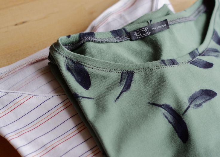 Schnelles Halsbündchen ohne Bündchenstoff! #berninablog #tutorial #nähen