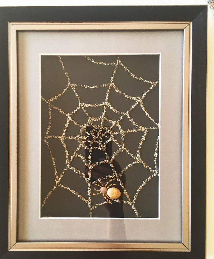 Spider with Sand &  Stone.. Seems Lovely in this frame.....İsn't it?