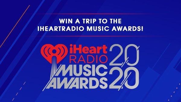 Win A Trip To Los Angeles To Attend Iheartradio Music Awards 2020 In 2020 Win A Trip Music Awards Trip