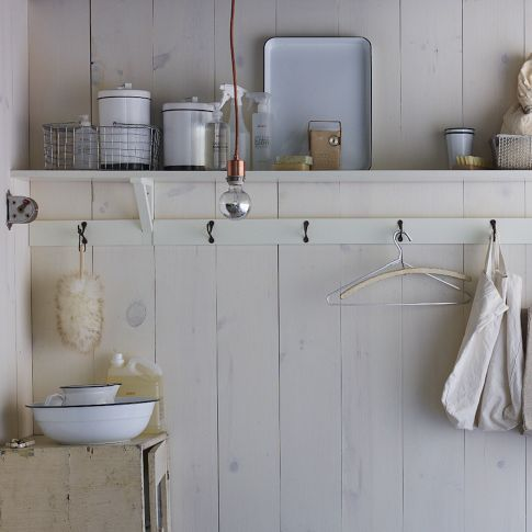 48 best images about laundry on pinterest soaps clean mama and clothespins - West elm bathroom storage ...