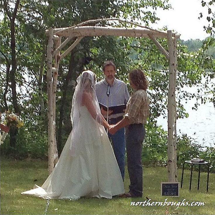 Rustic Wedding Arbors: 17 Best Ideas About Rustic Arbor On Pinterest
