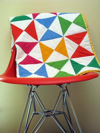 Crayon Box Quilt Tutorial + Winter Peach Giveaway | Sew Mama Sew | Outstanding sewing, quilting, and needlework tutorials since 2005.