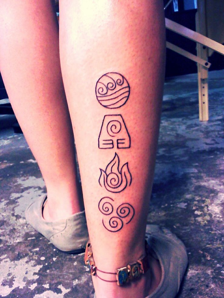 Avatar nations element tattoo