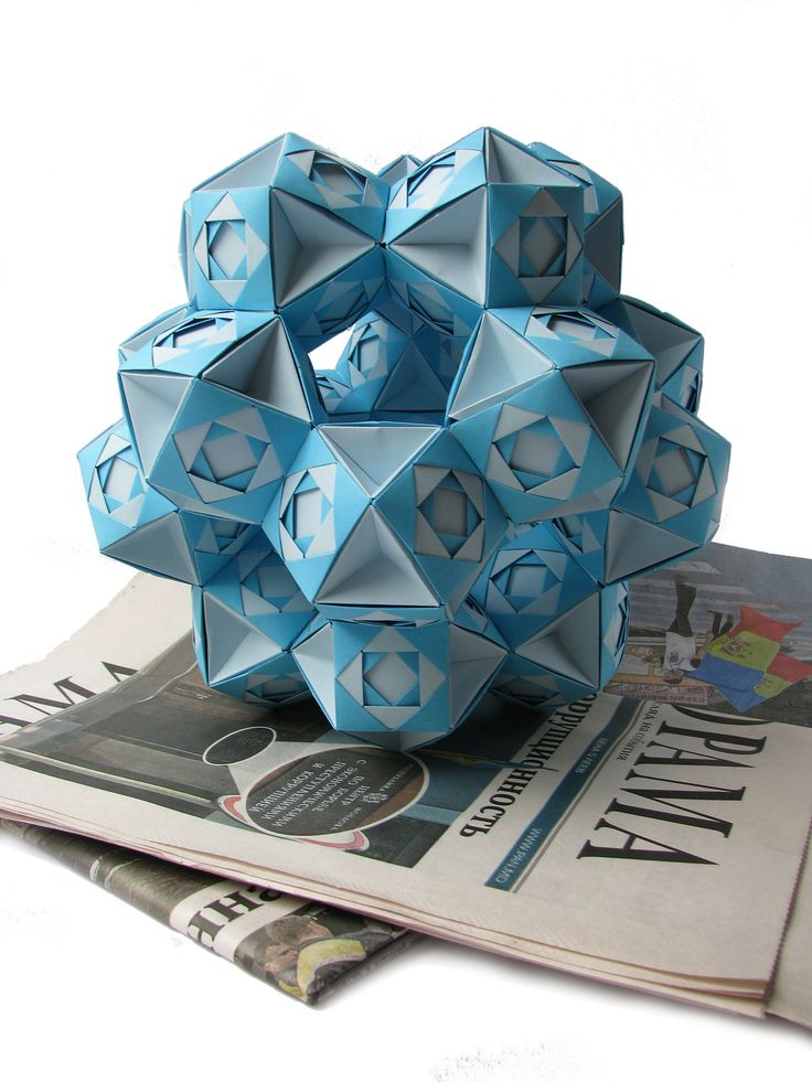 Origami - Structure of 20 Octahedron