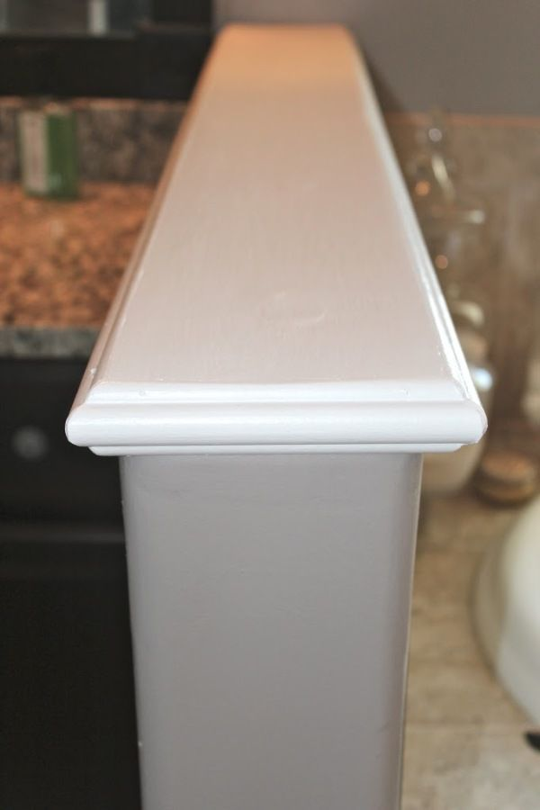 Diy Wood Cap For A Pony Wall Stair Railing Pinterest