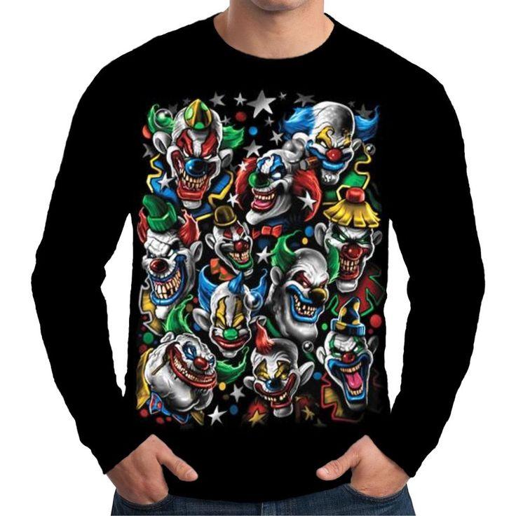 Skull, Joker, Clown, Jester, Mens Tshirt, Joker Tshirt, Skull Illustration, Clown Tshirt, Jester Tshirt, Clothing Apparel, Tshirt, Red