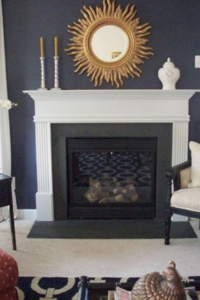 A Benjamin Moore Color [Image From U0027houzzu0027 IPhone App] · Blue Paint  ColorsLiving Room ... Part 82