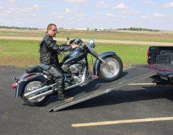 Motorcycle Loading Ramp