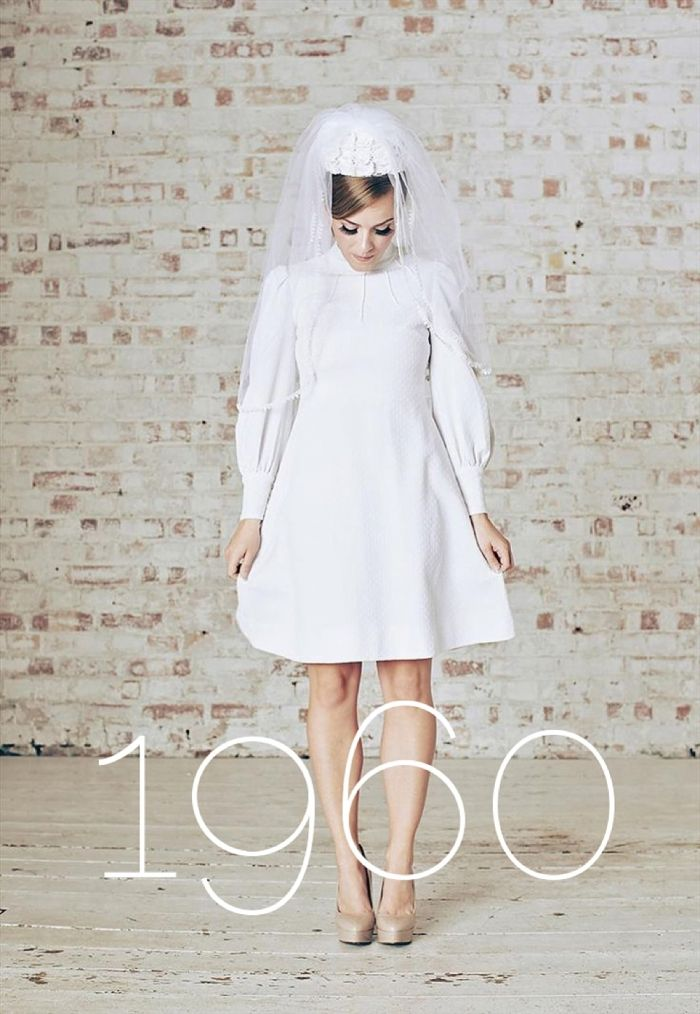 1960s Bridal Fashion