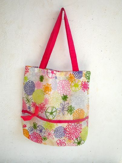 handmade cotton bag