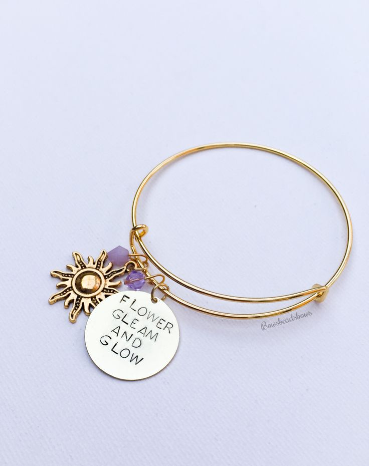 Lost princess bangle