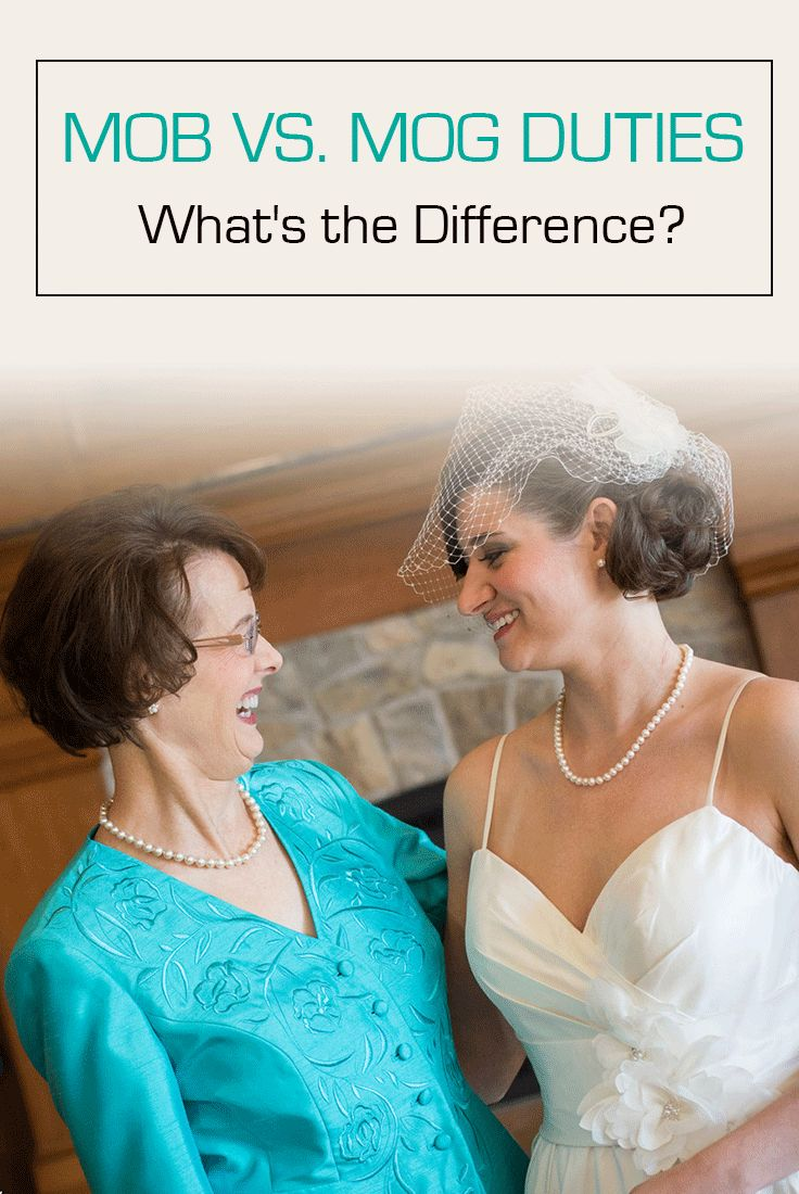 Learn all of the wedding duties and expectations of the mother of the bride versus the mother of the groom.
