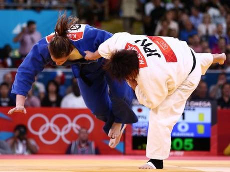 Judo: Brilliant Karina Bryant wins bronze for Team GB in women's over-78kgs