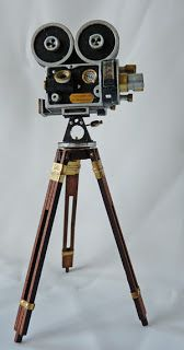 All about dollhouses and miniatures: Miniatuur: Filmcamera