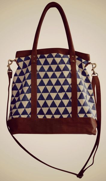 Pyramid Carry-all - Rising Tide Fair Trade - perfect for the woman who dresses like a Banana Republic ad #FairTuesday