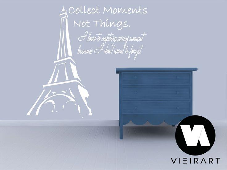Decoração em vinil autocolante disponível em várias cores e medidas á sua escolha. Para ver mais: www.facebook.com/... Para mais informações: vieirart@sapo.pt