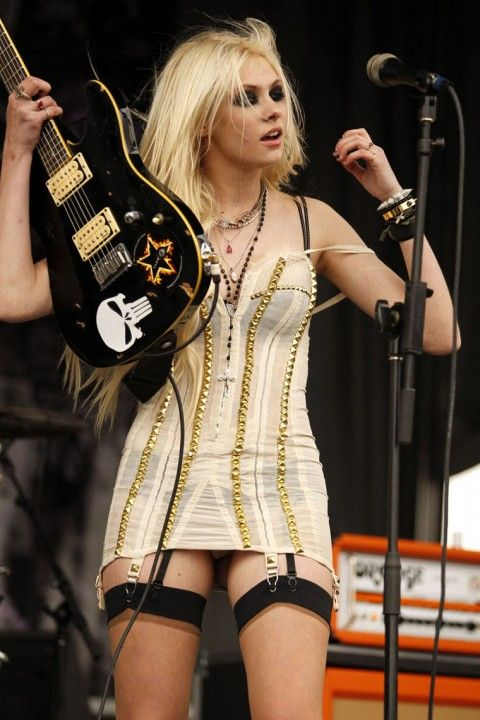 Taylor Momsen of The Pretty Reckless