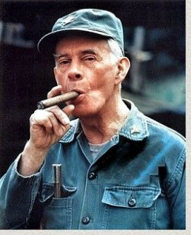 "Harry Morgan (4/10/15 - 12/7/11)   American actor and director, whose television and film career spanned six decades. ""Mash"""