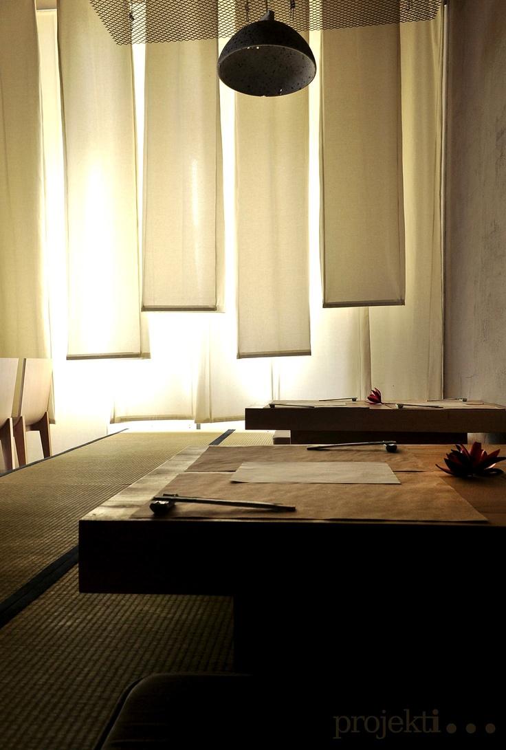 KURA Noodle shop & more / designed by projekt i... / http://projekt-i.blogspot.com/2012/10/kura-noodle-shop.html