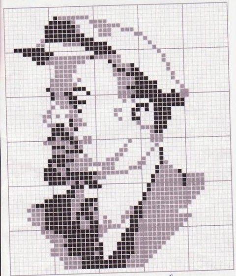 Девочки, помогите найти схему- портрет В.И.Ленина