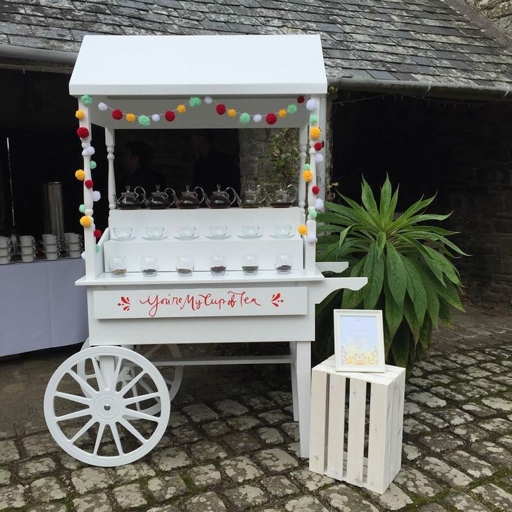 Sweet Cart Candy Bar Tea Bar Traders Cart Hire