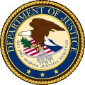 ATTORNEY GENERAL OF THE UNITED  STATES OF AMERICA: Seal of the United States Department of Justice.svg
