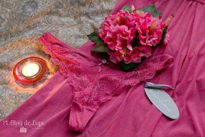 Colalés Lace Frambuesa. Colección Belleza Invierno