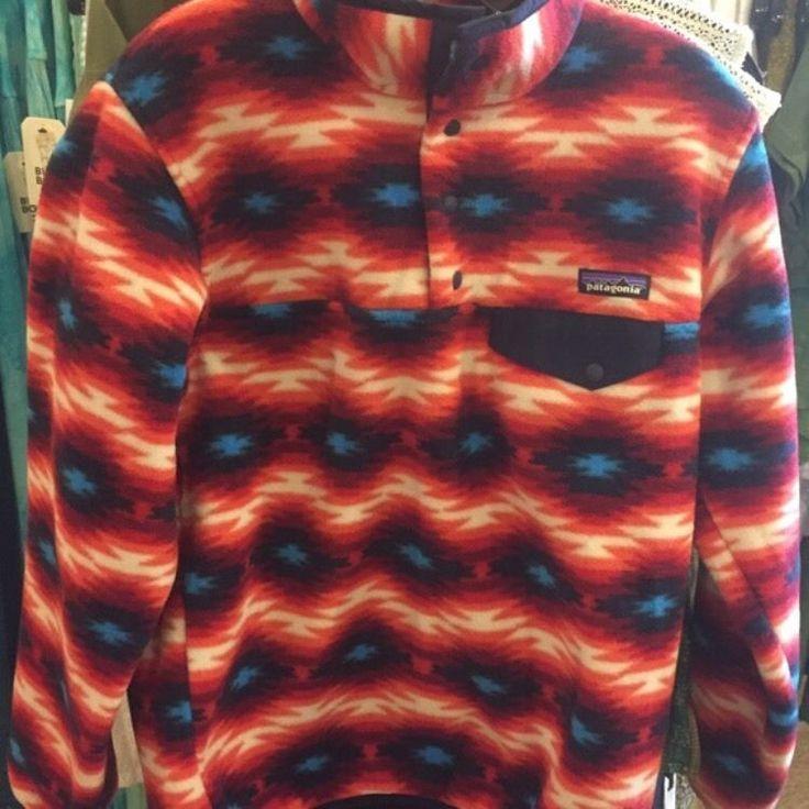 Women's Patagonia Synchilla Pullover L    eBay