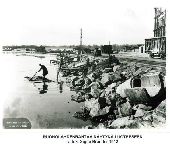 Bysa and Sandis and Uttern – now known as Jätkäsaari. 1912.