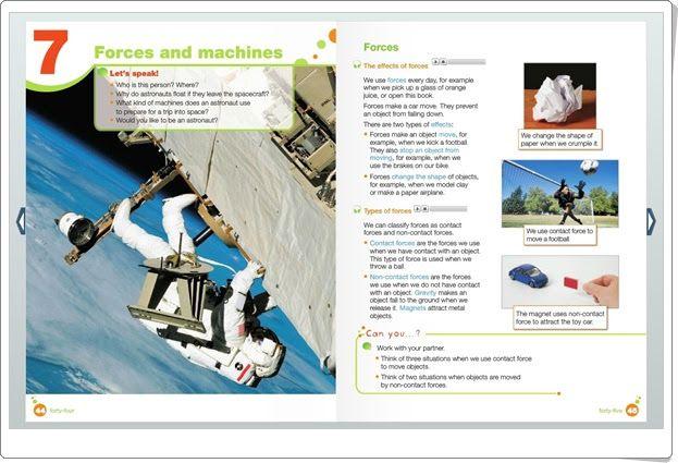 "Unidad 7 de Natural Science de 4º de Primaria: ""Forces and energy"""