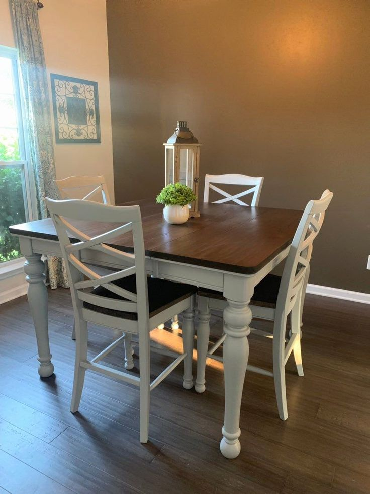 Dining room chairs for farmhouse table in 2020 square