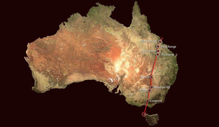 Scoperta in Australia una catena di vulcani lunga oltre 2000 chilometri! E' l' hot spot Cosgrove. Scopriamolo nel Blog: http://www.vulcanosolfatara.it/it/news-eventi/blog-vulcano-solfatara-pozzuoli/307-2000-km-di-vulcani-in-australia-e-l-hot-spot-cosgrove