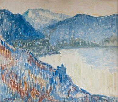Verner Thome- Hill Landscape