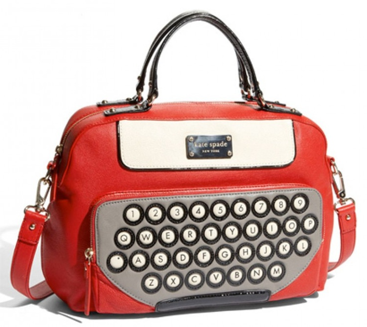 For the love of all things holy. I need this bag stat! I'm obsessed with it lol Kate Spade type writer bag