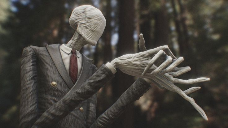 Slender Man for PBR Game Engines by Noah Summers