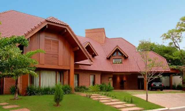 De tijolinho e telha vermelha, casa trouxe estilo europeu ao Parque dos Poderes