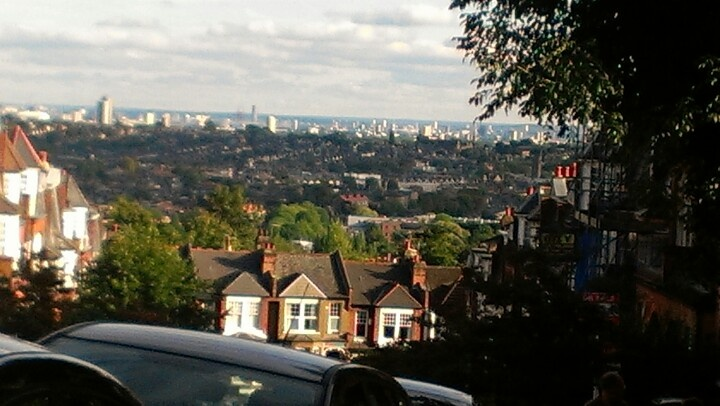 Great view of London from Muswell Hill