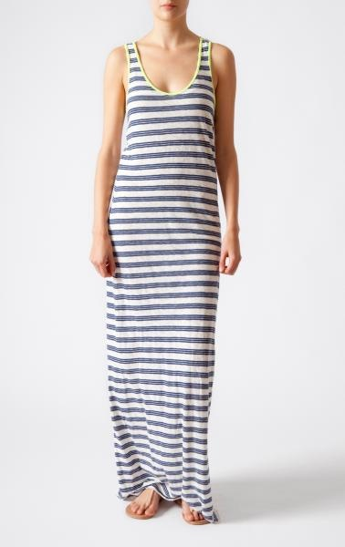 Striped Jersey / Closed #style: Boat Shoe, Summer Dresses, Stripes Jersey, Around The House, Dresses Close, Jersey Maxi Dresses, Dresses Kind, Close Style, Jersey Dresses