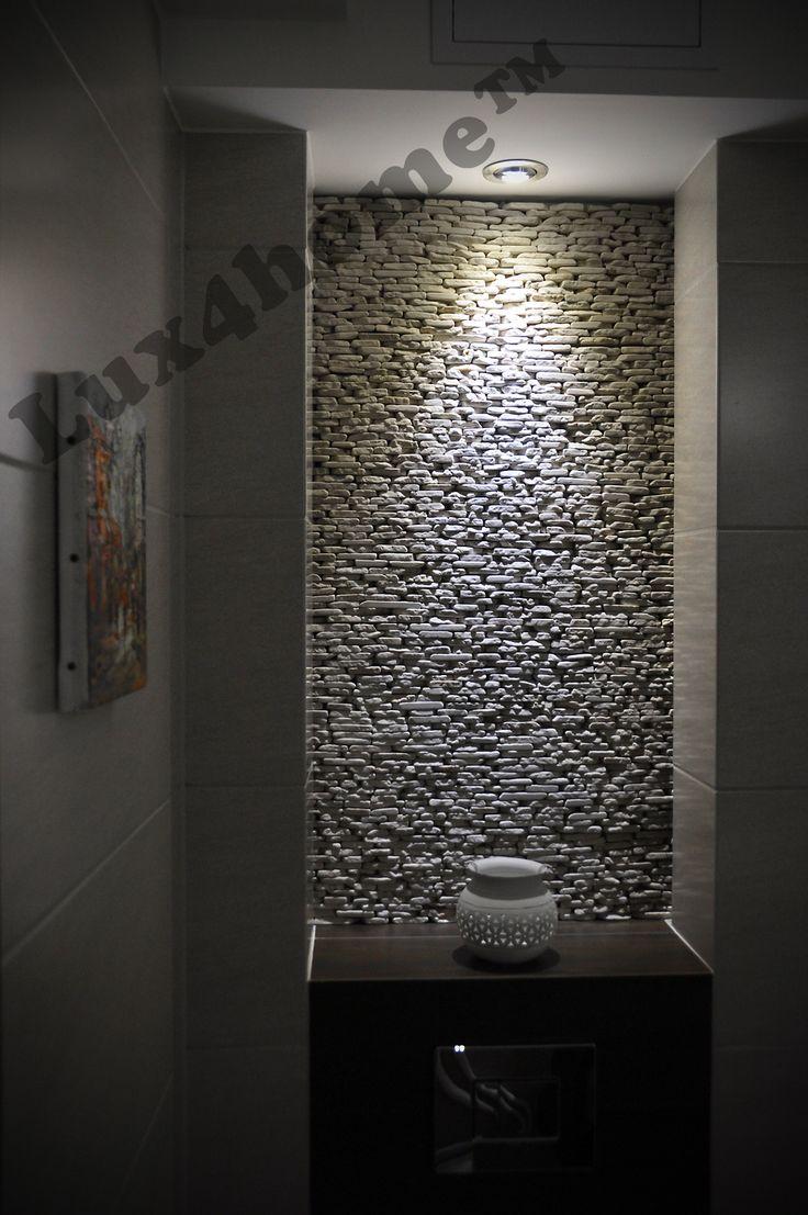 #Kamień na ścianach. Ściany z kamienia - Standing Stone Kuta White od #Lux4home™. Wygląda pięknie na żywo...