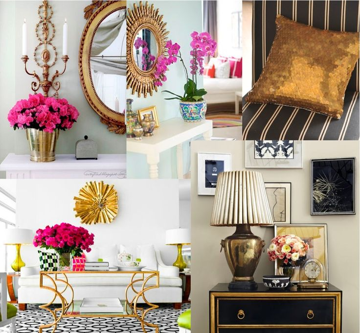 gold home decor -officially going to have some gold in our home decor..looove it
