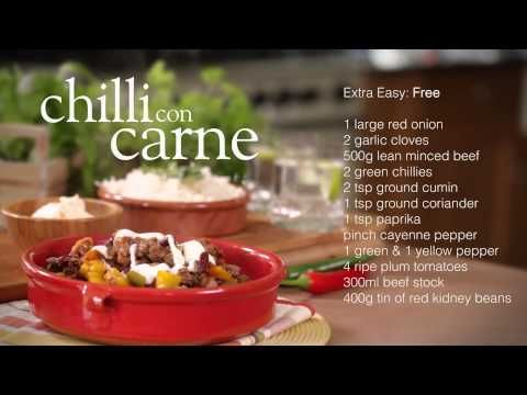 Easy chilli con carne - Recipes - Slimming World