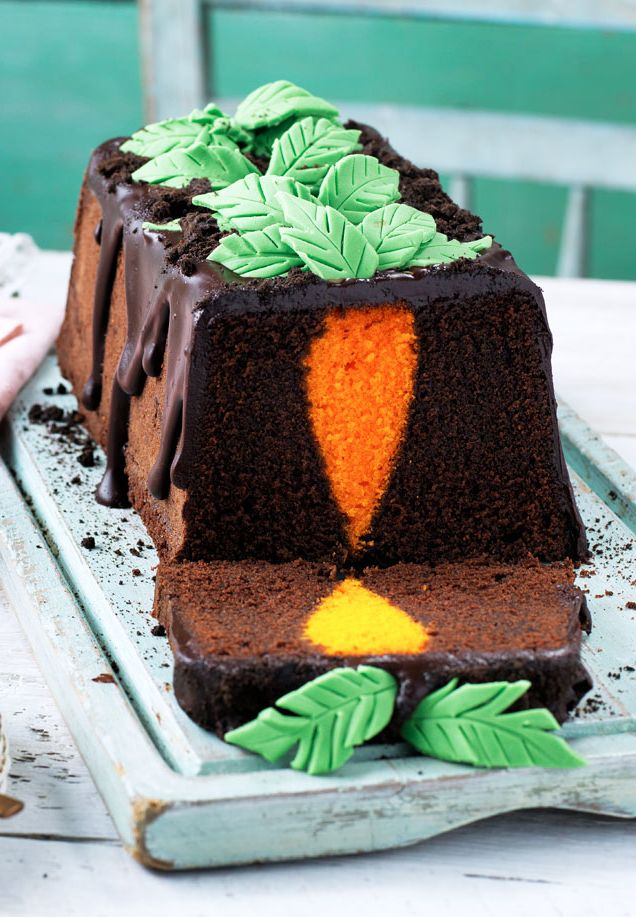 101 best easter tesco images on pinterest real foods easter not only is this cake totally delicious with rich dark chocolate sponge gooey negle Gallery