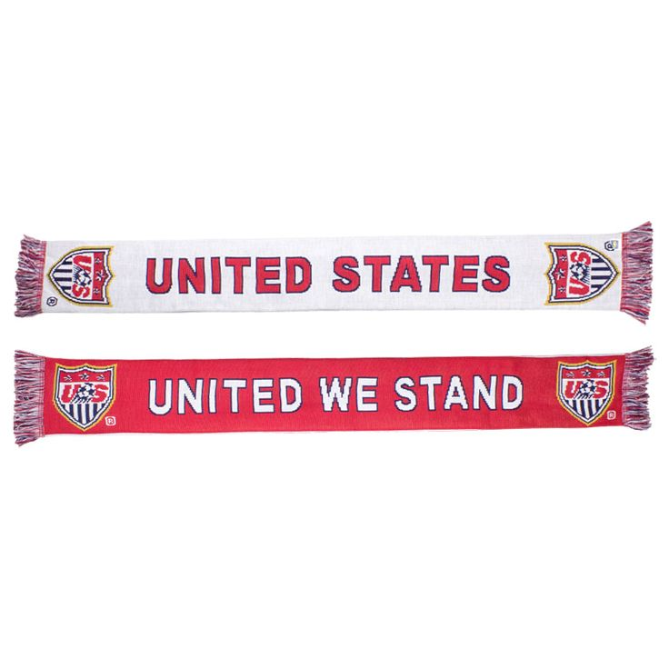 U.S. Soccer United We Stand Knit Scarf