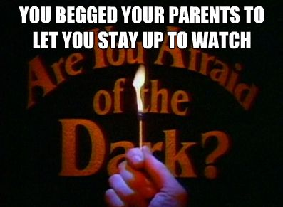 You were a kid of the 90's if... (and it ALWAYS freaked me out)