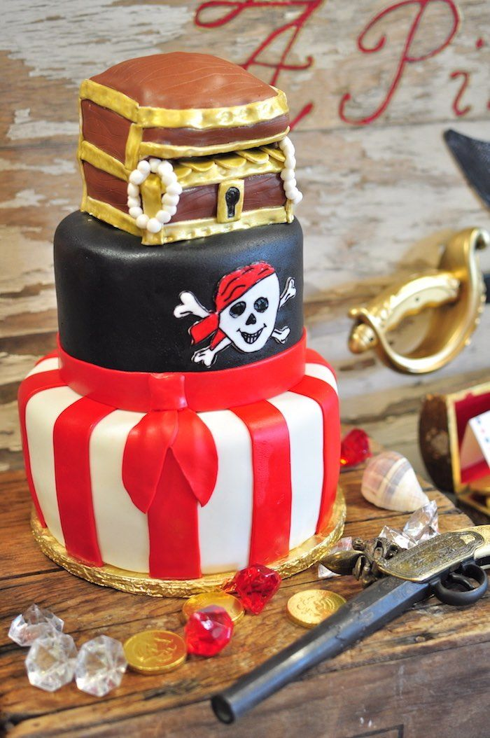 Pirate Themed Cake Decorations : 189 best images about Pirate Party Ideas on Pinterest