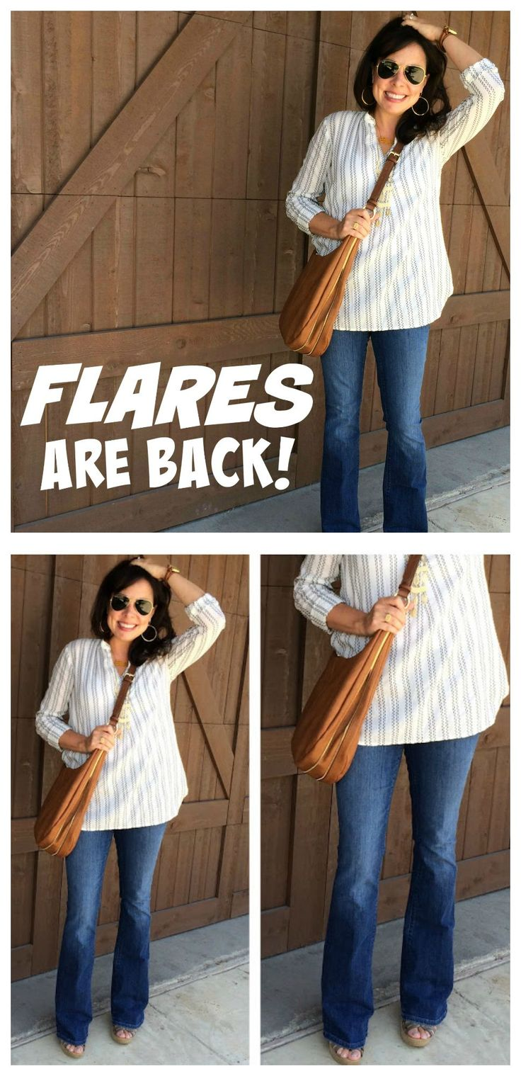 Flares are a HUGE fashion trend for fal! I've found my ...
